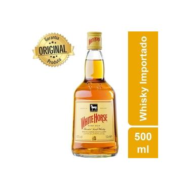 Whisky Escocês 8 Anos Garrafa 500ml - White Horse