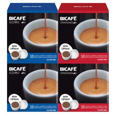 Kit 40 Cápsulas Para Delta Q Cápsula Café Bicafé
