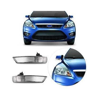Lanterna Retrovisor Ford Focus Hatch Sedan 2008 2009 2010 2011 2012 2013 Cristal
