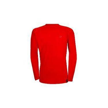 Camiseta Conquista Dry Cool Ml - Tamanho M - Vermelho a26f0ec4688b1