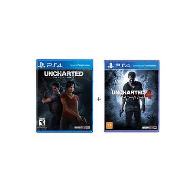 Jogo Uncharted 4 + Uncharted The Lost Legacy