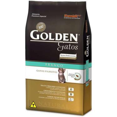 Ração Seca PremieR Pet Golden Gatos Filhotes Frango - 10 Kg