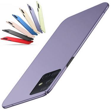 Imagem de Capa ultra fina para samsung, proteção em plástico rígido para os modelos a52, a72, a51, a71, s21
