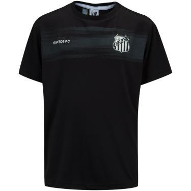 Camiseta do Santos Juvenil Chain Braziline Unissex