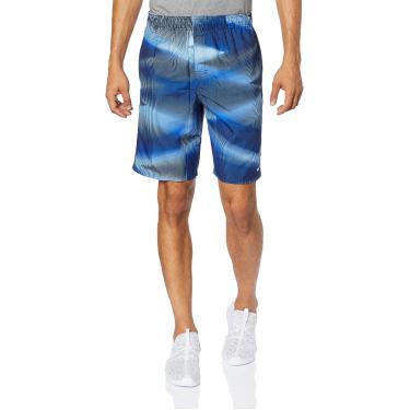 Bermuda 9-Inch Swim Volley Shorts Estampada Nike Homens GG Azul
