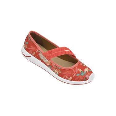 Sapatilha Shape Slipper IV AD Grendha Vermelho Tropical - 17382