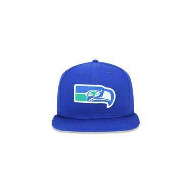 Bone 950 Original Fit Seattle Seahawks Nfl Aba Reta Snapback Azul New Era 3551f581097