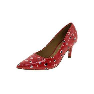14e692c7b60f3 Sapato Vizzano Vermelho: Encontre Promoções e o Menor Preço No Zoom