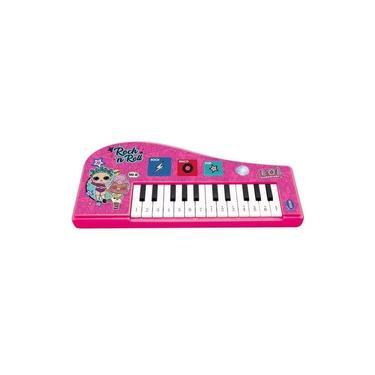 Imagem de Piano Infantil com Luzes - Teclado Musical - LOL Surprise - Candide