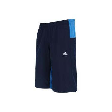 3236875999246 Bermuda adidas Colourblock - Masculina - AZUL ESC AZUL adidas