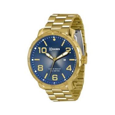 074c1f477de Relógio X-games Masculino Analógico Xmgs1004 D2kx Azul Oferta