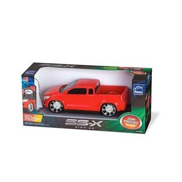 Imagem de Caminhonete Pick Up Rj-X Com Fricção Roma Brinquedos