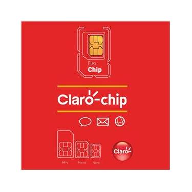 Triplo Chip Claro ODA 4G Universal Pré/Controle