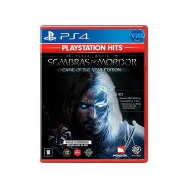 Terra-média: Sombras de Mordor GOTY - Edição Jogo do Ano - PS4