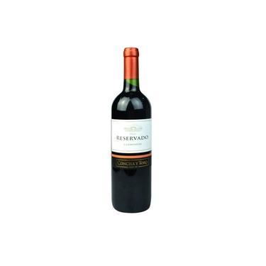Vinho Tinto Chileno Concha Y Toro, Meio Seco Reservado Carménère - 750ml