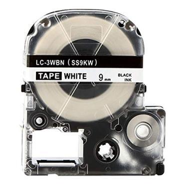 Fita LC-3WBN Para Rotulador EPSON Lw-300 Lw-400 LW-600 9mm