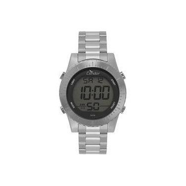 a8cf75fa24e Relógio Condor Masculino Casual Digital Prata Cobj3463ab 2k