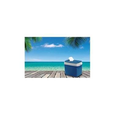 Imagem de Caixa Térmica 32L Azul Tropical Soprano