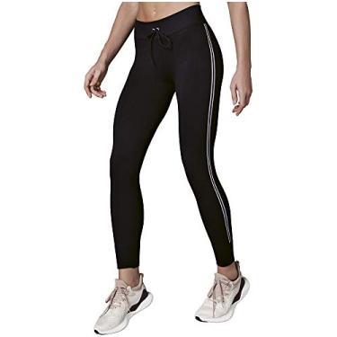 Calça legging Act Seamless, Lupo Sport, Unissex Adulto, Black, M