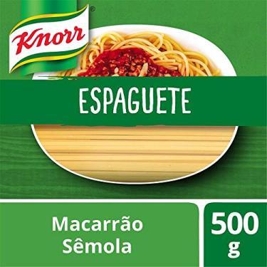 Macarrão Espaguete Knorr Semola 500g