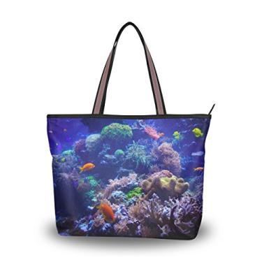 Bolsa de ombro Cooper Girl Coral com alça superior e grande capacidade, Multicolorido., Medium