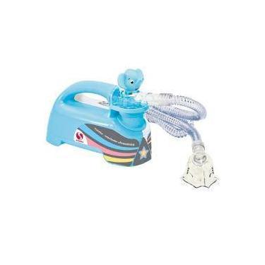 Imagem de Inalador E Nebulizador - Soniclear Pulmosonic Star Premium Azul