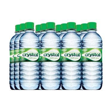 Água Mineral com gás 500ml com 12 unidades - Crystal 1021303