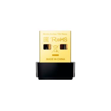 USB Adaptador Wi-Fi TP-Link Archer T2U Nano AC600 - Dual Band 2.4 GHz e 5 GHz