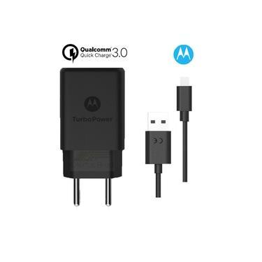 Carregador TurboPower 15W USB-C Moto Z Z2 Z3 Play Motorola Original