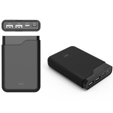 Power Bank Carregador Portátil Dazz Onix 10 - Bateria Externa 10.000mAh - Micro USB e Tipo C - para