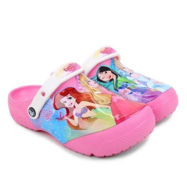 Crocs Infantil Disney Princesa