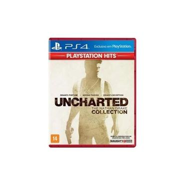 Jogo Game Uncharted The Nathan Drake Collection Hits - PS4