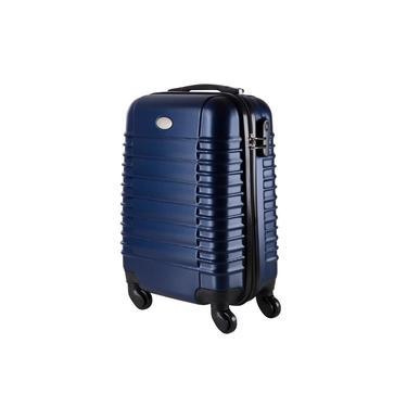 Imagem de Malas de Bordo Pequena para Viagem em ABS Yins 21046 Cadeado Integrado Rodas 360º Azul