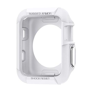 Capa Para Apple Watch Rugged Armor Series 3/2/1 (38Mm Branca, Cell Case, Capa Protetora Smartwatches, Branco