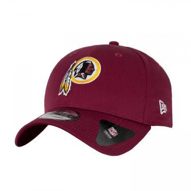 Boné Aba Curva New Era 940 Washington Redskins - Snapback - Adulto New Era Unissex