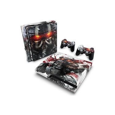 Skin Adesivo para PS3 Slim - Killzone 3