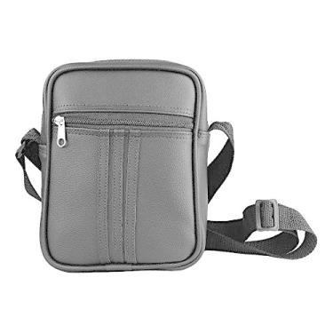 Bolsa Bag Couro Ecológico Impermeável e Tiracolo - Preta