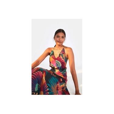 Vestido Farm Midi Frescor de Tucano