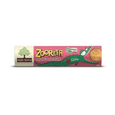 Biscoito Integral e Orgânico Morango Zooreta Mãe Terra 110g