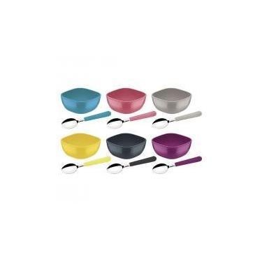Imagem de Kit sobremesa 12 pcs color mix misto tramontina -