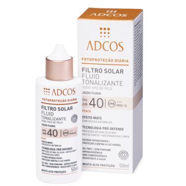 Filtro Solar Fluid Beige FPS 40 Adcos 50ml
