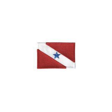 Patch Bordado Termocolante Bandeira Do Pará