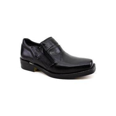 Sapato Masculino Ferracini Urban Way 6629 Couro Preto 51ee74ff396