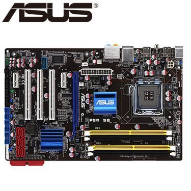 Asus p5q se desktop placa-mãe p45 soquete lga 775 para core 2 duo quad ddr2 16g uefi atx bios