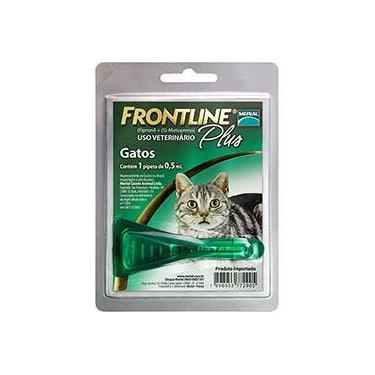Produto  Antipulgas e Carrapatos p/ gatos  - Frontline Plus