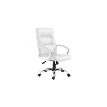 d63a39de4 Cadeira de Escritório Presidente Office Plus Branca - Mobly