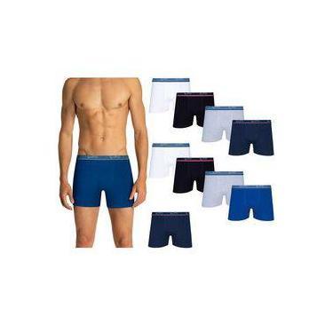 Kit Com 10 Cuecas Boxer 523-088 - Lupo