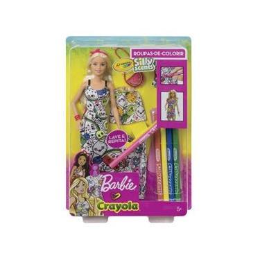 Barbie Crayola Pintando Seu Estilo Mattel GGT44