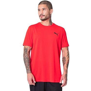 Imagem de Camiseta Active, Puma, Masculino, Vermelho, M