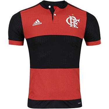 Camisa Adidas Flamengo I 2017 Jogador BK7150 (M)